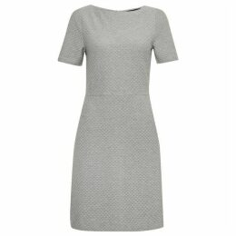French Connection Dixie Texture Fit and Flare Dress