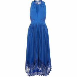 Whistles Lana Lace Pleat Dress