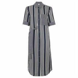 Whistles Multi Stripe Dress