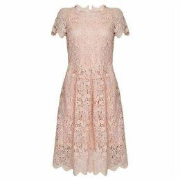 Yumi Floral Lace Prom Dress