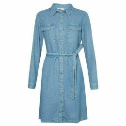 French Connection Avery Denim Mini Shirt Dress