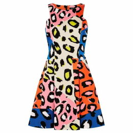 Karen Millen Leopard Skater Dress