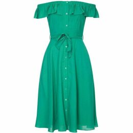 Yumi Bardot Shirt Dress