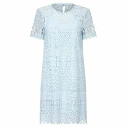 Yumi Floral Lace Ocassional Tunic Dress