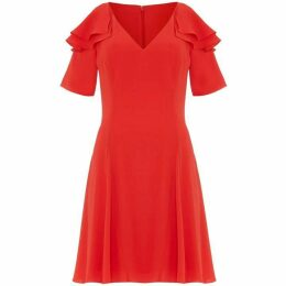 Damsel in a Dress Juna Ruffle Cold Shoulder Dress