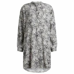 All Saints Cayla Paisley Shirt Dress