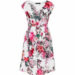 Hallhuber Floral Print Jersey Dress