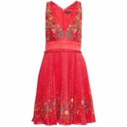 French Connection Amity Lace Flared Dress