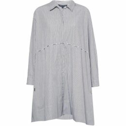 French Connection Smythson Stripe Cotton Shirt Dress