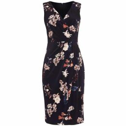 Phase Eight Fiona Floral Slinky Jersey Dress