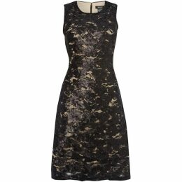DKNY Sequin sleeveless dress
