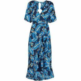 Whistles Josephine Print Wrap Dress