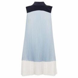 Ted Baker Elweiss Colour Block Pleated Dress