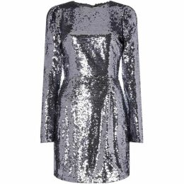 Fashion Union Long sleeve sequin dress