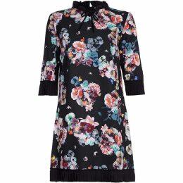 Yumi Midnight Flower Tunic Dress