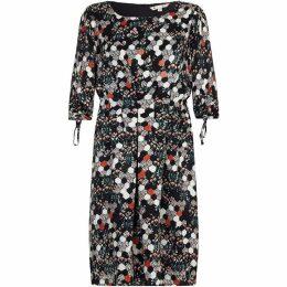 Yumi Curves Pixal Floral Dress