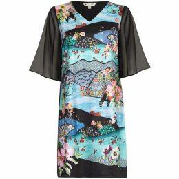 Yumi Persian Scene Tunic Dress