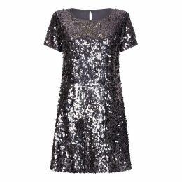 Yumi Sequin Tunic Dress
