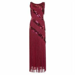 Phase Eight Annabeth Fringe Dress