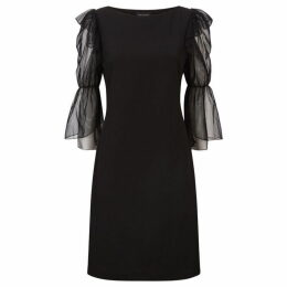 James Lakeland Tulle Sleeve Dress