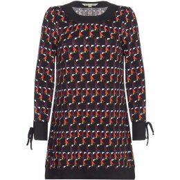 Yumi Geometric Print Tunic Dress