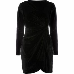 Fashion Union Velvet long sleeve dress