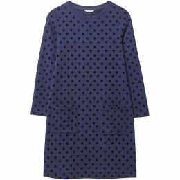 White Stuff Flock Spot Dress