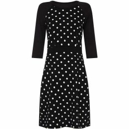 Yumi Polka Dot Bodycon Dress