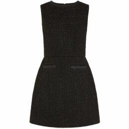 Oasis Short Length Sparkle Tweed Dress