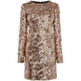 Karen Millen Sequin Mini Dress