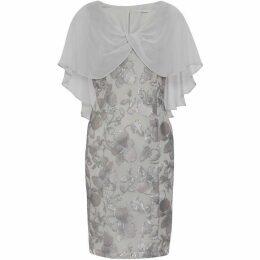 Gina Bacconi Bolina Embroidered Dress