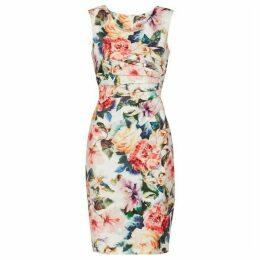 Gina Bacconi Vitina Floral Scuba Dress