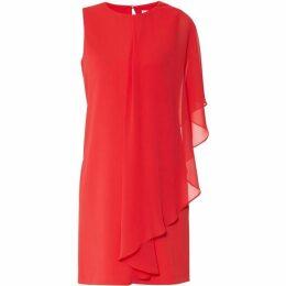 Gina Bacconi Aletta Crepe Chiffon Dress