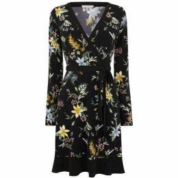 Oasis Jasmine Crepe Wrap Dress
