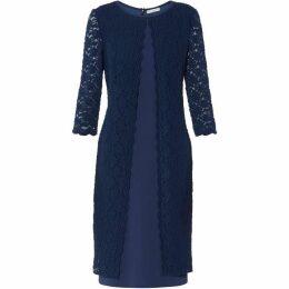 Gina Bacconi Kimora Scallop Lace Dress