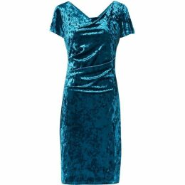 Gina Bacconi Sigrid Crushed Velvet Dress