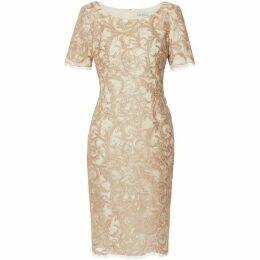 Gina Bacconi Liliana Embroidery Dress