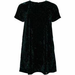 Superdry Leonie Velvet T-Shirt Dress