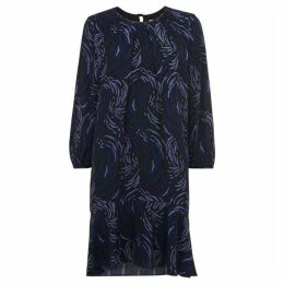 Whistles Renata Reed Print Dress