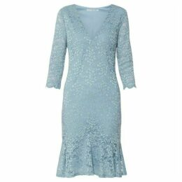 Gina Bacconi Nadalie Stretch Lace Dress