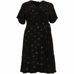 Studio 8 Whitney Spot Jacquard Dress