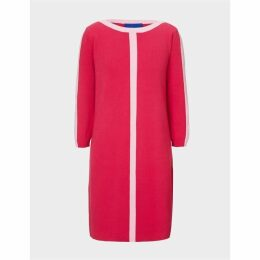 Winser London Cotton Shift Dress With Trim