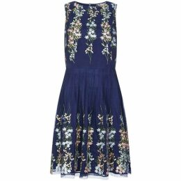 Yumi Mirror Embroidery Dress