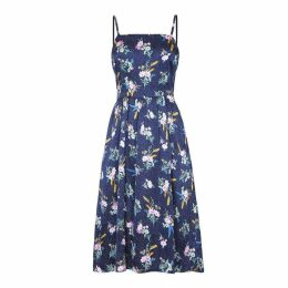 Yumi Floral On Spot Strap Dress
