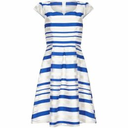 Yumi Organza Stripe Dress