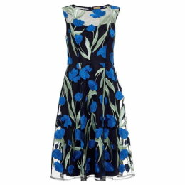 Phase Eight Shae Embroidered Fit And Flare Dress