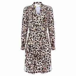 Damsel in a Dress Hannah Animal Printed Dress