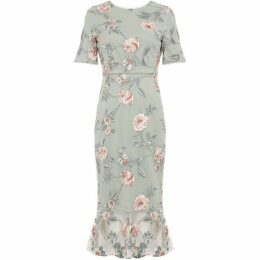 Phase Eight Alissa Floral Embroidered Dress
