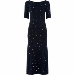 Crew Clothing Company Belted Jersey Dress