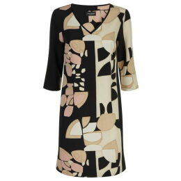 James Lakeland Collage Print Shift Dress